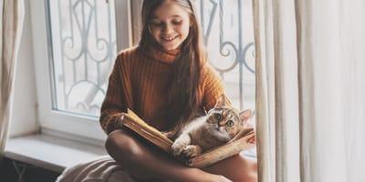 ¿Tu gato convivirá con niños?